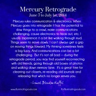 Mercury Retrograde Survival Guide – June 2014